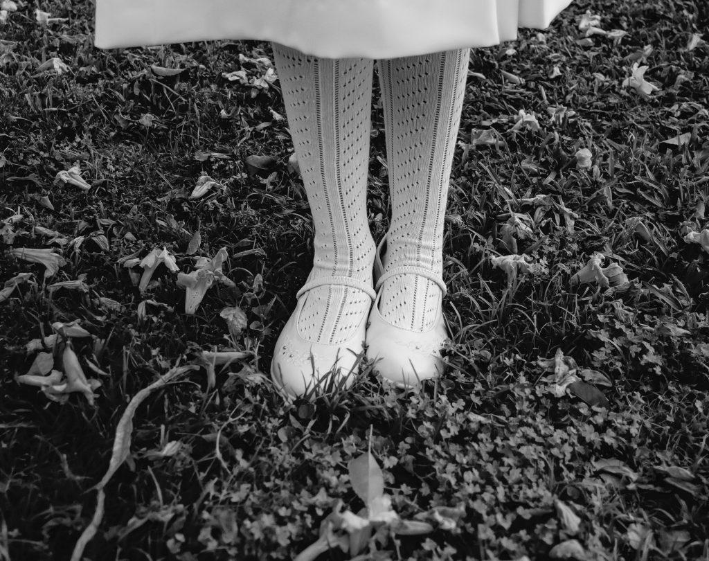 Los calcetines dejan marca