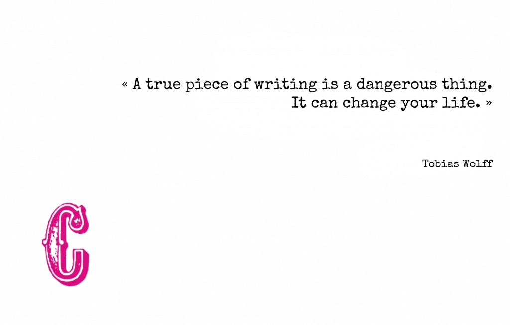 Escribir es arriesgarse